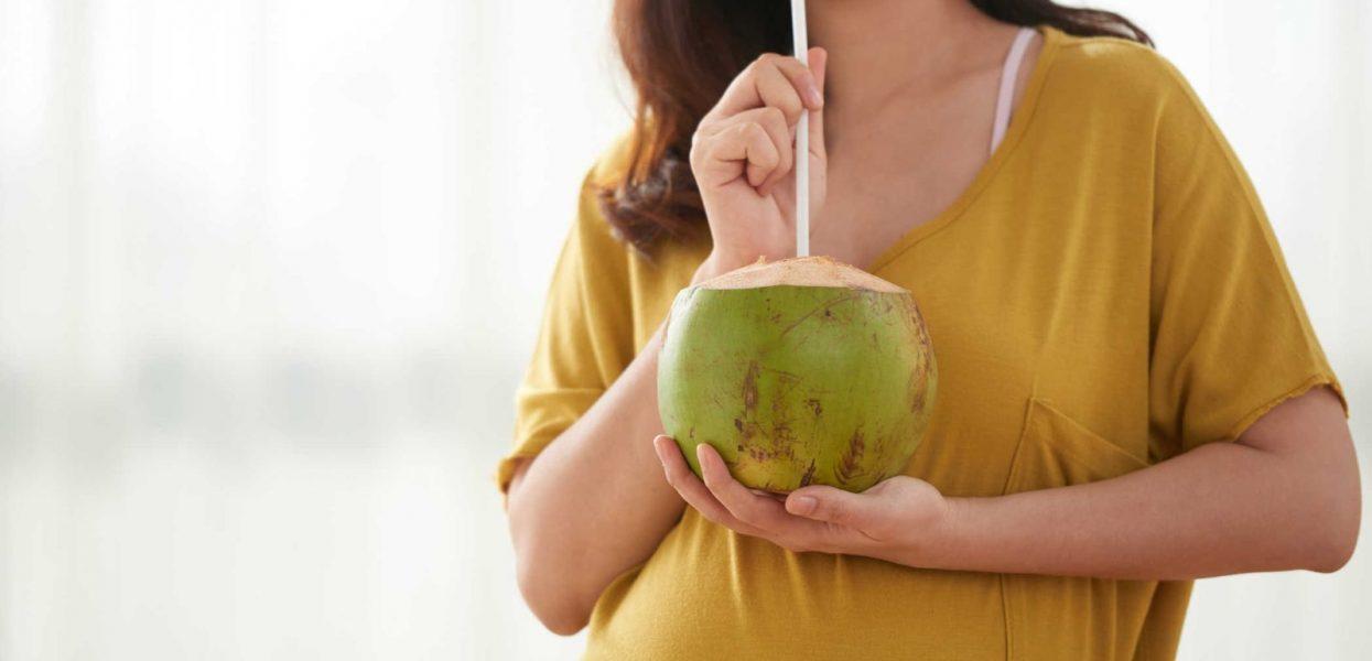 Công dụng tuyệt vời của rau má nước dừa đối với bà bầu